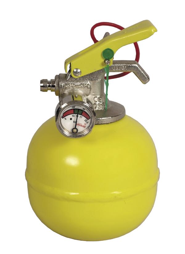 Estintore a palla polvere palla giallo emme - Kit misuratore di pressione e portata idranti prezzo ...