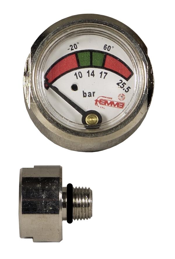 Manometro diametro 23 m10x1 temp 30 60 emme - Kit misuratore di pressione e portata idranti prezzo ...