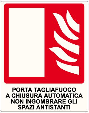 Porta tagliafuoco a chiusura automatica 1672 emme - Porta automatica prezzo ...