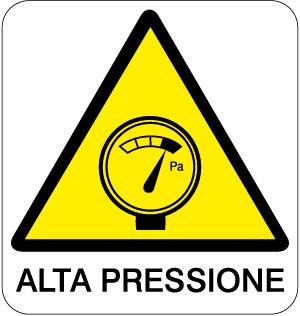 Cartello in alluminio formato mm 330x350 alta pressione - Kit misuratore di pressione e portata idranti prezzo ...