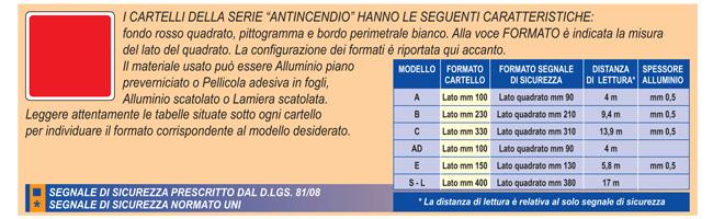 Cartello in alluminio formato mm 300x200 attacco motopompa - Kit misuratore di pressione e portata idranti prezzo ...