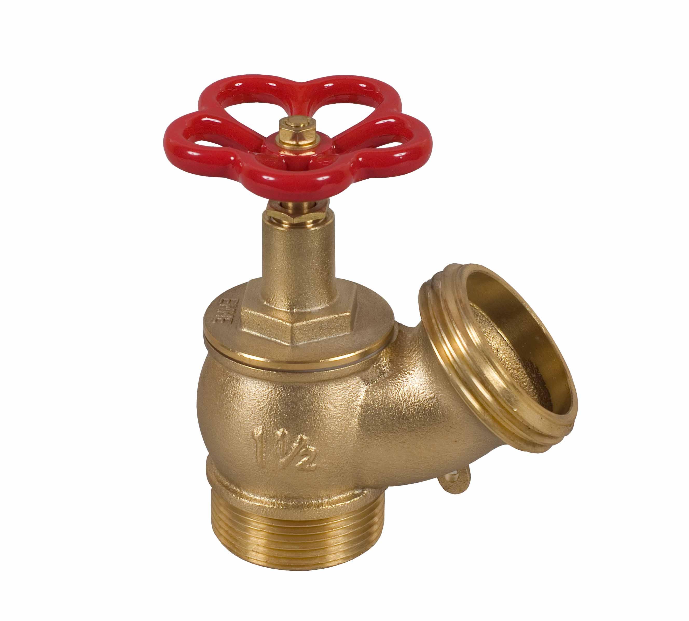 Rubinetto uni 45x1 39 39 1 2 pn 16 iso 7 ottone volantino for Manichette per irrigazione prezzi