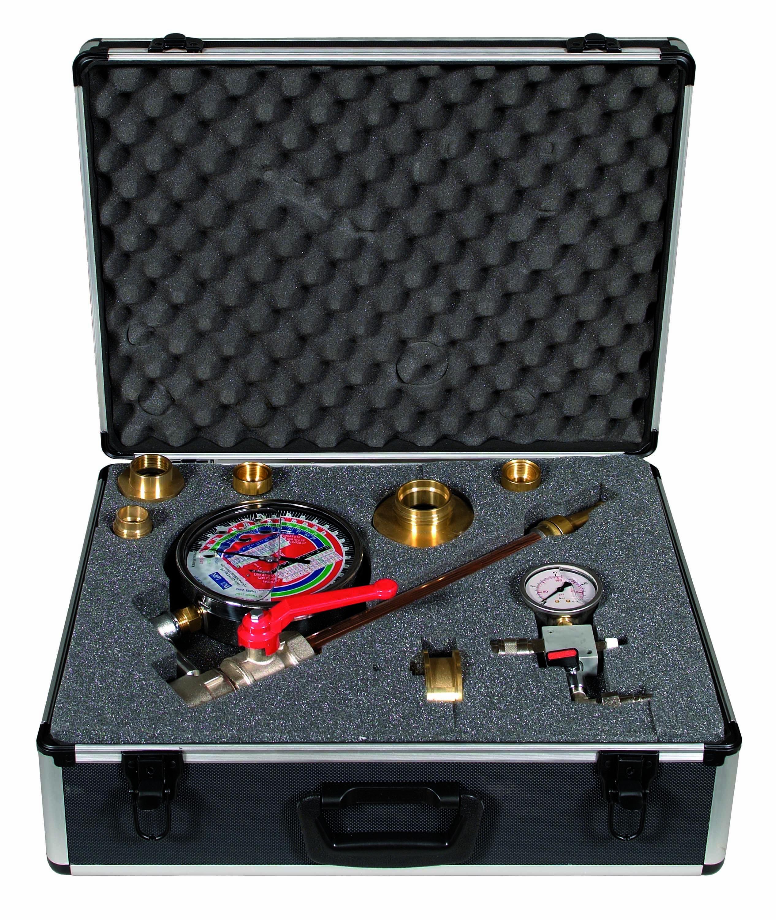 Kit misuratore di pressione e portata manichette 0870 - Portata pressione ...