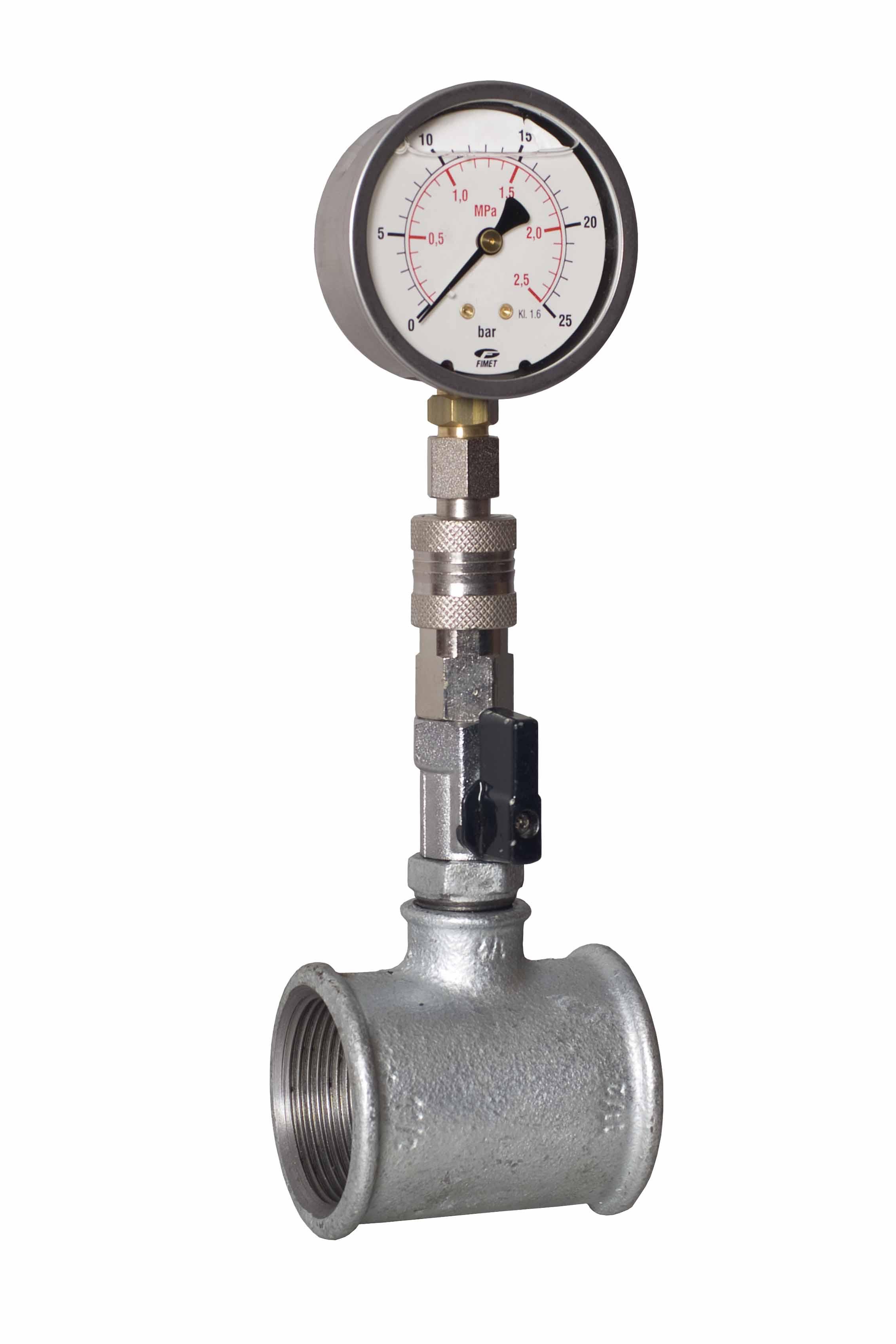 Vendita accessori per manutentori e macchinari per il - Kit misuratore di pressione e portata idranti prezzo ...