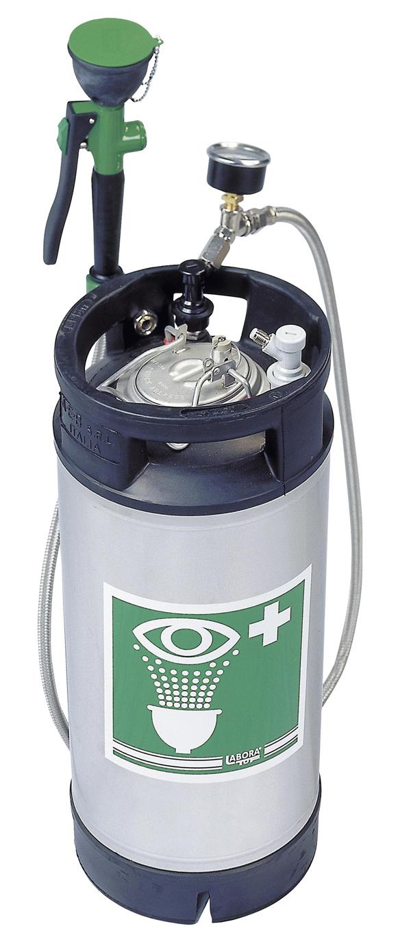 Lavaocchi portatile con serbatoio 7954 emme - Kit misuratore di pressione e portata idranti prezzo ...