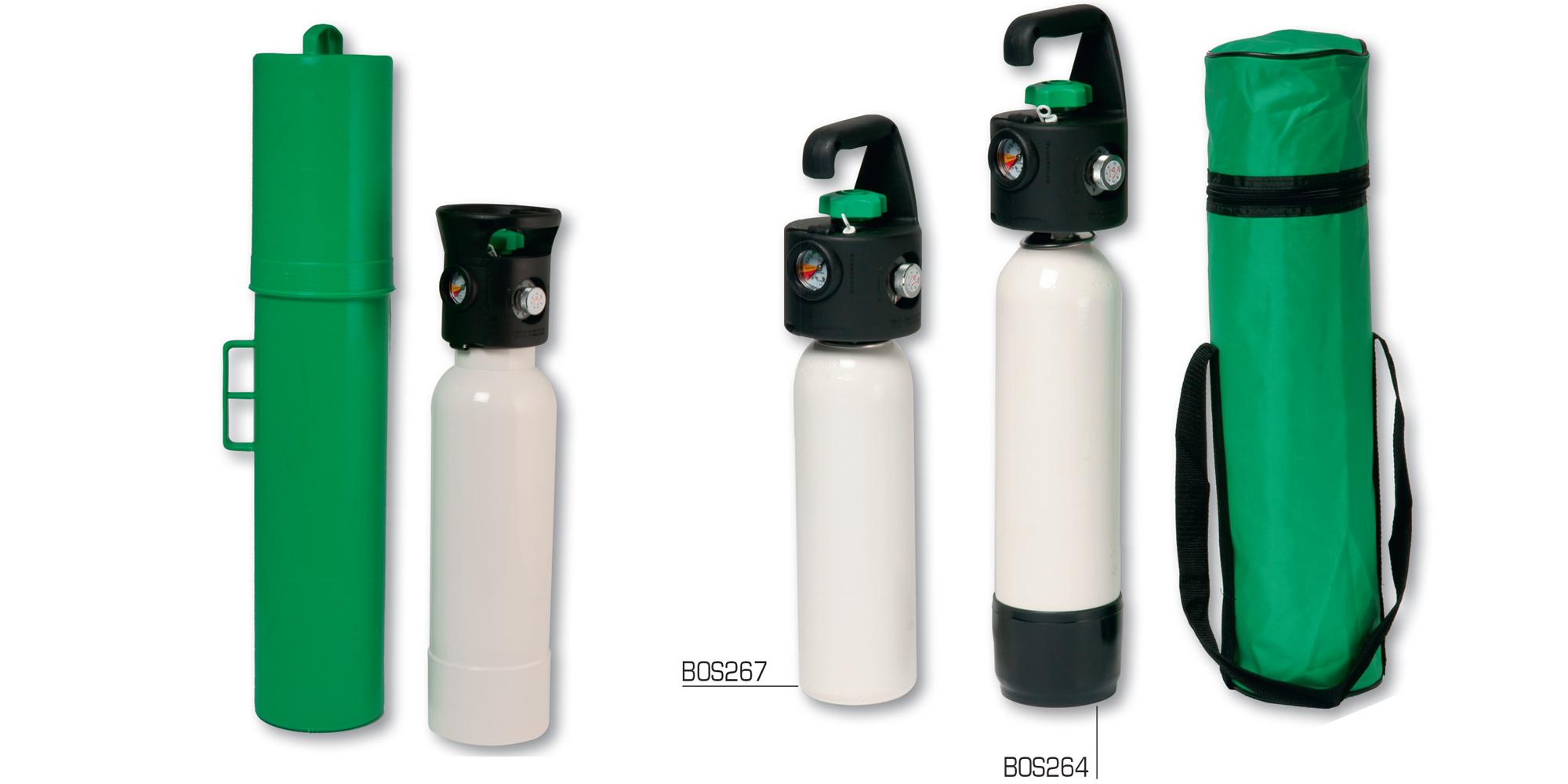 Vendita estintori materiale antincendio ed antinfortunistica - Carrello porta bombola ossigeno portatile ...