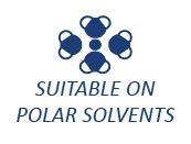 Suitable on Polar Solvents