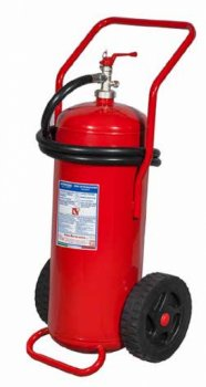 50 Kg Dry Powder Mobile Fire Extinguisher EN 1866-1 - D -  Code: 12509-2