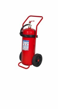 50Kg Potassium Bicarbonate Powder Wheeled Fire Extinguisher - EN 1866-1 - Code 12509