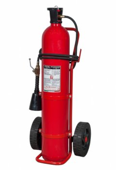 30 Kg Co2 Wheeled Fire Exstinguisher MED 2014/90/UE Code 14304 (PED 17304)
