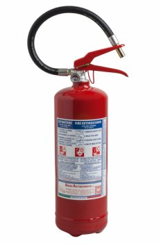 4 Kg Dry Powder Fire Extinguisher - 21 A 183 B C - EN 3-7 - Code 21042-1