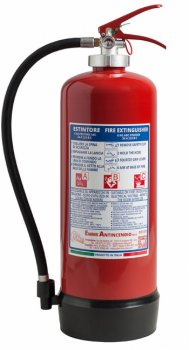 6 Kg Dry Powder Fire Extinguisher - 34 A 233 B C - EN 3-7 - Code 21063-40