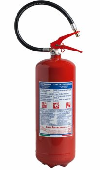 6 Kg Dry Powder Fire Extinguisher -55 A 233 B C - UNI EN 3-7  - Code 21065