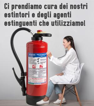 Estintori omologati e certificati - Emme Antincendio Srl
