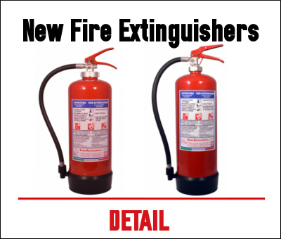 New fire extinguisher - Emme Antincendio 2016
