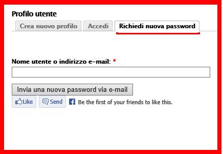 Recupero Password  Emme Antincendio Srl - Produzione estintori omologati